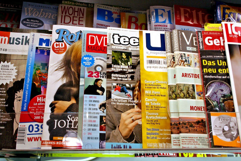 zoeken naar tijdschriften in catalogus
